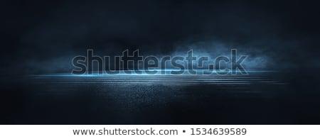 Blue lantern Stock photo © smuki