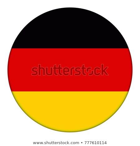 Almanya bayrak düğme siyah klavye bilgisayar klavye Stok fotoğraf © tashatuvango