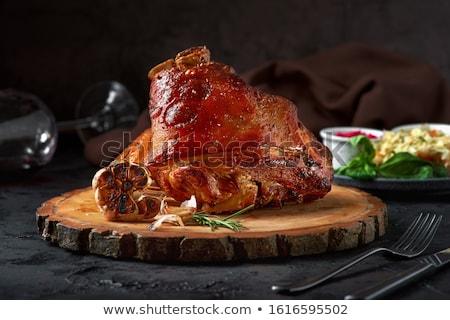 Kocsma disznó kövér lát enyém portfólió Stock fotó © artcreator
