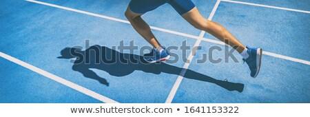 Brano runner runners esecuzione gara sport Foto d'archivio © njnightsky