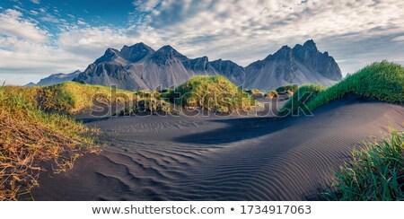 scénique · vue · paysage · été · ciel · herbe - photo stock © 1Tomm