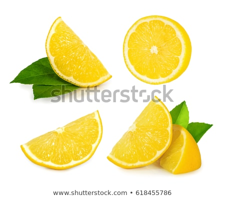 sliced and whole lemons Stock photo © Mikko