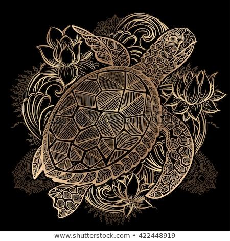 wedding of sea turtles stock photo © adrenalina