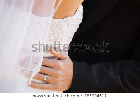 Newlywed paar jonge Stockfoto © wavebreak_media