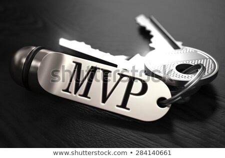 MVP Concept. Keys with Keyring. Stock photo © tashatuvango