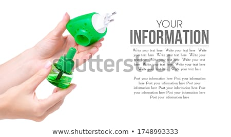 electric device for protection against mosquitoes in hand Stock photo © ozaiachin