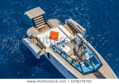 Two motor boats navigating Stock photo © epstock
