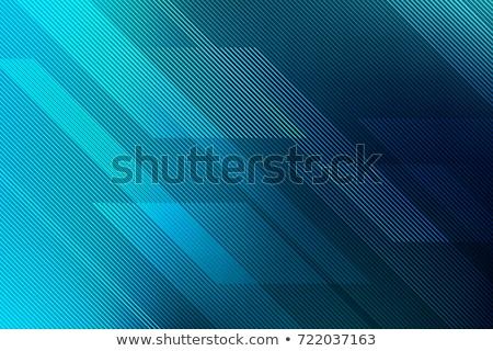 Bleu lignes résumé technologie fond wallpaper Photo stock © pashabo