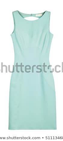 Woman wearing white dress isolated on white Stock photo © Elnur