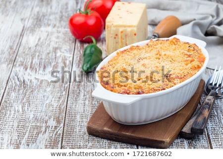 пасты · макароны · копченый · сыра · блюдо - Сток-фото © Digifoodstock