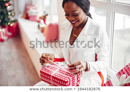 美しい · 装飾された · ルーム · バレンタイン · スタイル · 赤 - ストックフォト © dmitroza