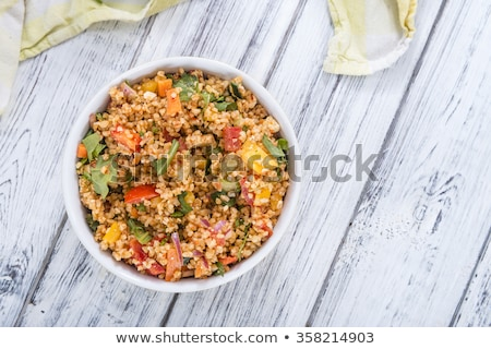 vegetable salad with bulgur Stock photo © M-studio