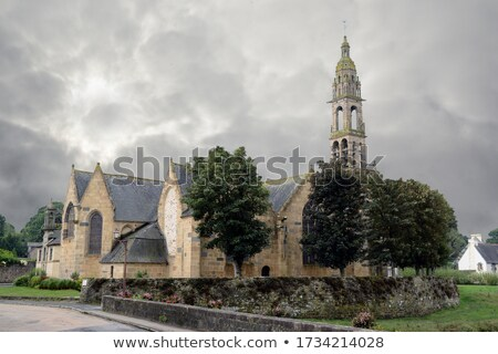 Le Faou in Brittany Stock photo © prill