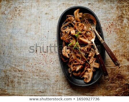 先頭 ダウン 表示 オーバル プレート 焼き ストックフォト © ozgur