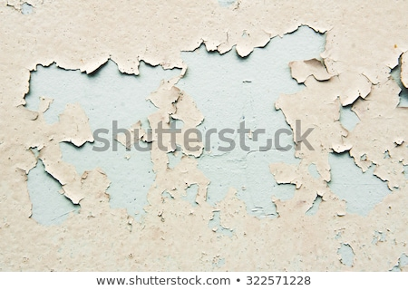 Grunge wall surface with paint peeling off Stock photo © stevanovicigor