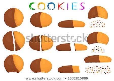 Stock photo: Fresh Natural Homemade Crispy Cookies