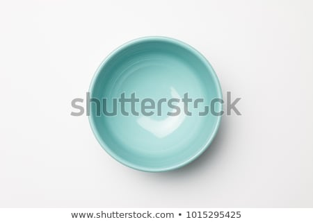 Blu ciotola profondità coupe cena piatto Foto d'archivio © Digifoodstock