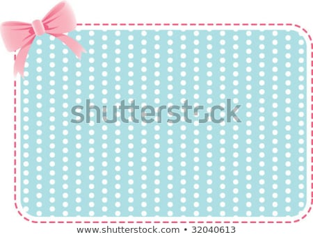 clean polka dots background in vintage colors Stock photo © SArts