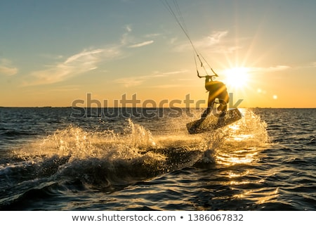 Kitesurfer  Stock photo © homydesign