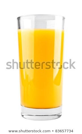 tok · cam · portakal · suyu · beyaz · meyve · serin - stok fotoğraf © butenkow
