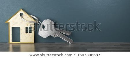 real estate closing concept illustration Stock photo © alexmillos