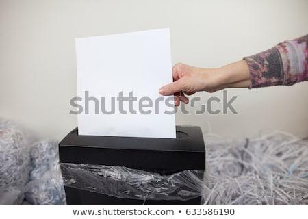 Сток-фото: бумаги · цвета · защиту · концепция