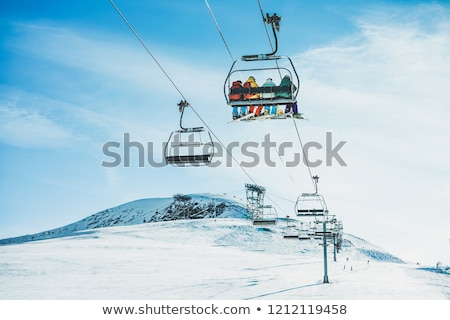 cable car winter stock photo © fotoyou