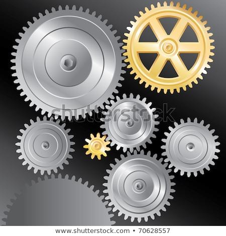 Cooperazione metallico attrezzi meccanismo Foto d'archivio © tashatuvango