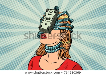 The money parasites, women and financial dependence Stock photo © studiostoks