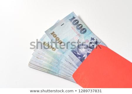 dolar · zarf · açmak · yalıtılmış · beyaz - stok fotoğraf © devon