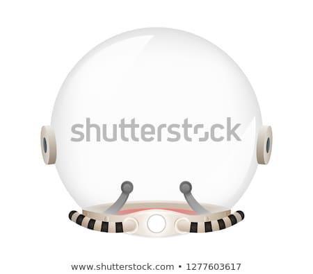 ruimte · exploratie · banner · iconen · web · design · lijn - stockfoto © robuart