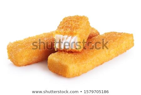 Apetitoso pan decorativo pan blanco mesa primer plano Foto stock © simply