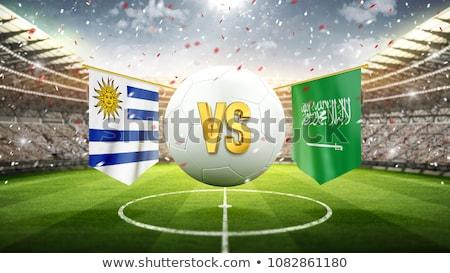 Calcio match Uruguay vs Arabia Saudita calcio Foto d'archivio © Zerbor