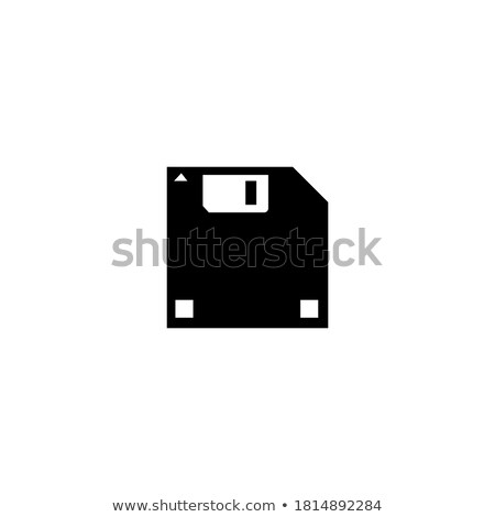 Floppy disk on a white background setting  Stock photo © tab62