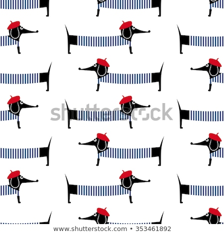 seamless pattern of children dressed up stock photo © bluering