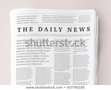 papel · da · notícia · computador · negócio · papel · globo · laptop - foto stock © pikepicture
