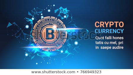 Exchange - Coinsbank Copy. The Crypto Coins or Cryptocurrency Lo Stock photo © tashatuvango