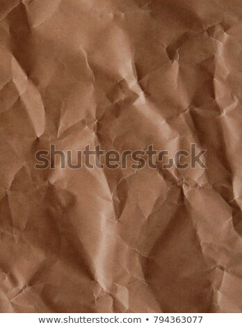 Recycle brown paper crumpled texture,Old paper surface for background Stock photo © ivo_13