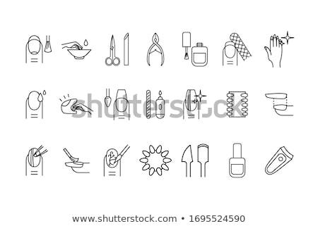 vector set of cutter Stock photo © olllikeballoon