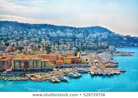 Panoramisch afbeelding mooie stad Frankrijk breed Stockfoto © amok