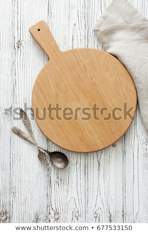 chop on fork. Stock photo © fanfo