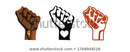 Сток-фото: протест · набор · шаблон · перец · спрей · другой