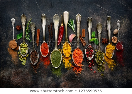Aromatic Indian spices Stock photo © grafvision