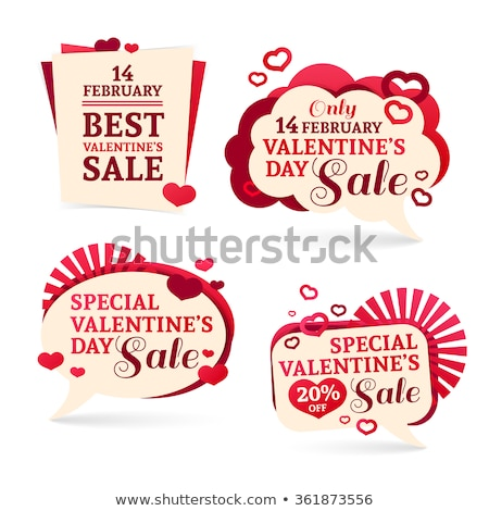 Designed Greeting with Valentines Day, Best Sale Stock photo © robuart