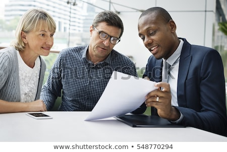 Retirement Planning Investment Broker Plan Pension Stock photo © robuart