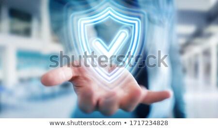 Security shield concept Stock photo © tilo