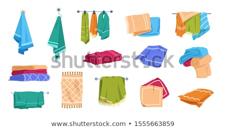 towels and washcloths  stock photo © xaniapops