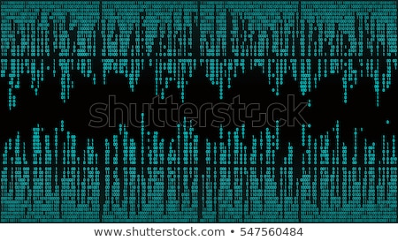 binary stream binary code data flow communication stock photo © artida