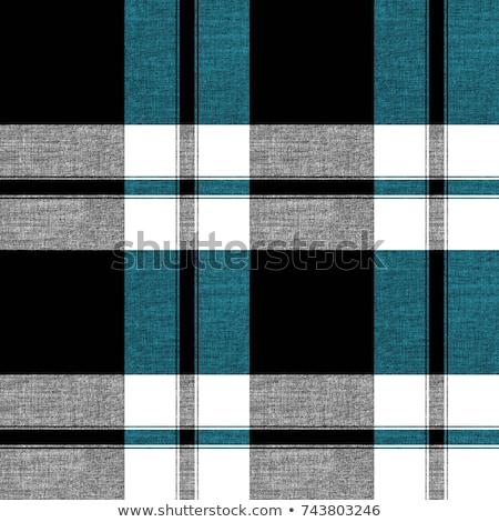 Green tartan fabric texture  Stock photo © happydancing
