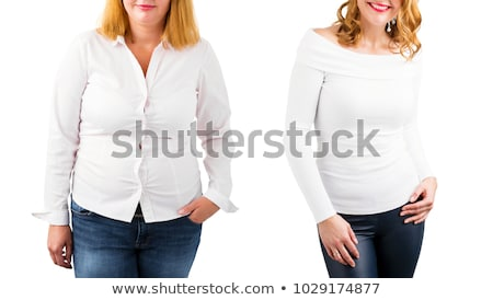gewicht · meisje · sexy · fitness · gezondheid · schoonheid - stockfoto © Nobilior